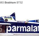 1983 Brabham BMW Turbo BT52 World Champion with Nelson Piquet