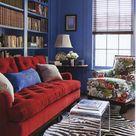 Rotes Sofa - 80 fantastische Modelle - Archzine.net
