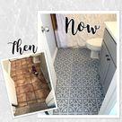 TILE31 Reusable Laser-Cut Floor or Wall Tile Stencil