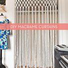 How To: Make DIY Macrame Curtains