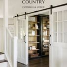Modern French Country Office Remodel