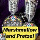 Marshmallow and Pretzel Skeletons