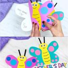 Butterfly Mother's Day Card Craft