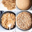 Healthy Homemade Apple Crumble Pie (Flourless, Vegan, GF) - Beauty Bites