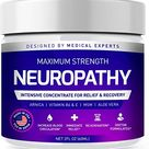 Neuropathy Nerve Therapy & Relief Cream   Maximum Strength Relief Cream for Foot, Hands, Legs, Toes Includes Arnica, Vitamin B6, Aloe Vera, MSM   Scientifically Developed for Effective Relief 2oz