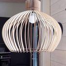 Scandinavische houten lampen | In aanbieding | 30% korting