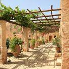 Mediterrane Gartengestaltung winterhart   25 Beispiele & Ideen