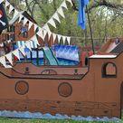 Cardboard Pirate Ships