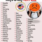 Ways to Say VERY BAD in English - English Grammar Here