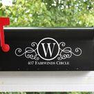 Mailbox Monogram