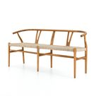 Muestra Dining Bench - Natural Teak
