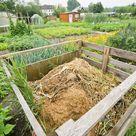 How To Make Your Own Compost Heap Kompost Herstellen Pflanzen Organischer Dunger