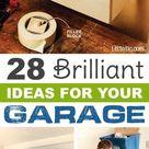 28 Brilliant Garage Organization Ideas