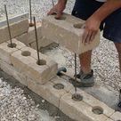 Gartenmauer selber bauen - Das Errichten einer Betonsteinmauer - Anleitung & Tipps vom Maurer | Maurern @ diybook.at