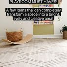 PLAYROOM MUST HAVES!  Make your kids' space bright & lively🌱
