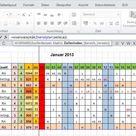 EXCEL: Monatsübersicht aus Jahres-Dienstplan ausgeben per WVerweis