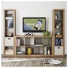cube storage tv stand living room