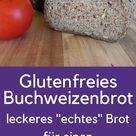 Glutenfreies Buchweizenbrot mit Flohsamenschalen. Richt | Paleo Ernahrung