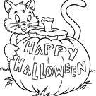 Halloween Speciale Dagen Kleurplaat