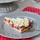 Knusper, knusper, Knäuschen | Rezept für Pudding-Kirschstreusel