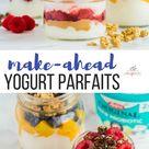 Prep-Ahead Yogurt Parfaits (a meal prep breakfast!) - The Recipe Rebel
