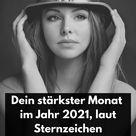 In diesem Monat wirst du 2021 unwiderstehlich auf andere wirken, laut Sternzeichen