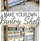 DIY Speisekammer Regal - Wood Working Four | Diy storage shelves, Diy pantry shelves, Diy pantry