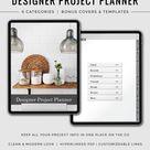 Designer Project Planner | Interior Design Planner | Project Management