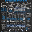Boy First Birthday