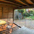 Holzhaus mit Schiebewänden
