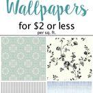 The Best Modern Farmhouse Wallpaper Designs on a Budget