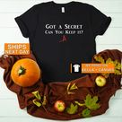 BFF Gift, Got a Secret Can You Keep It, Kisses -A, PLL Shirt Gift for Best Friend, Sassy T-Shirt for Girlfriend, Birthday Gift for Roommate