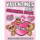 Valentines Day Coloring Book For Kids: A Cute & Lovely Coloring Book for Toddlers and Preschool - Fun and Easy Valentine's Day Pages (Paperback)