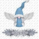 Christmas PNG, Angel Gnomes Clipart, Scandinavian Clipart, Hand Drawn Tomte Nisse Clip Art,  Nordic Gnomes, Graphic PNG Design Elements