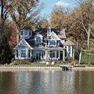 Shingle Style Lake House - VanBrouck & Associates