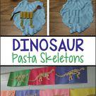 Dinosaur Pasta Skeletons
