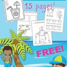 Fun Summer Worksheets for Preschoolers