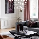 Coffee table and dining table in one