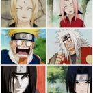 Team 7 are disciples of the Legendary Sannin. naruto