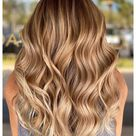cool blonde hair color balayage ombre natural