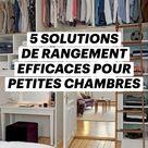 5 Solutions Efficaces pour le Rangement des Petites Chambres