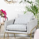 ACCENT CHAIRS YOU NEED RIGHT NOW!