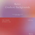 Retro Vintage Gradient Blur Backgrounds Grain Textures Modern Graphics Patterns Download Get Psd Now