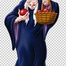 Evil Queen Snow White Seven Dwarfs Hag PNG - Free Download