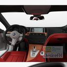 Download BMW M6 Gran Coupe with HQ interior 2013 3D Model   DesireFX.COM