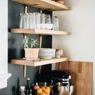 Küchenoberschränke und Regale für minimalistische Einrichtungskonzepte - Fresh Ideen für das Interieur, Dekoration und Landschaft