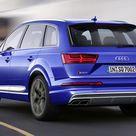 2017 Audi SQ7 TDI Color Sepang Blue   Rear HD