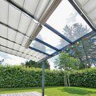 Maßgefertigtes Sonnenschutzsystem für Wintergarten, Terrasse und Pergola