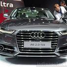 2015 Audi A6 facelift   Paris Live