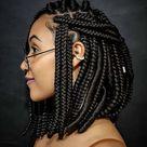 37 Amazing Chunky Bob Box Braids Hairstyles For African Girls